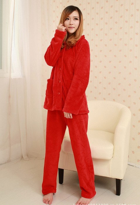 dfd8c31c5f ... Flannel Female Sleepwear pajamas set nightwear for Ladies Red. Welcome  to our Shop!!! 10210. 10201. 10203 10202