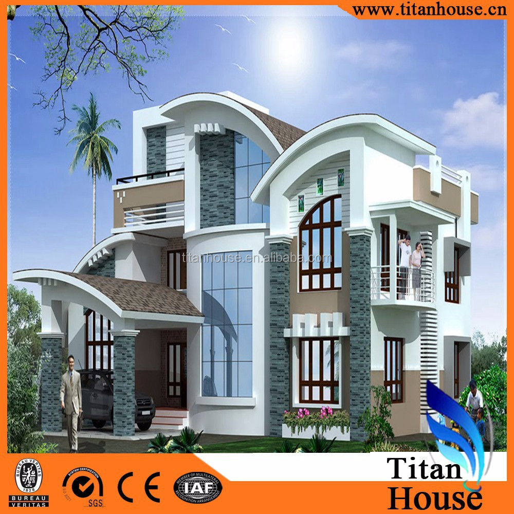 Luxury Dome Home Plans: Luxury Modern Design China Supplier Low Cost Prefabricated