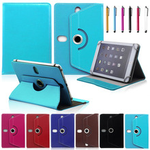 10inch Universal 360 rotate case for Samsung Snoy PU Leather Stand Protector Skin 10 Inch tablet PC