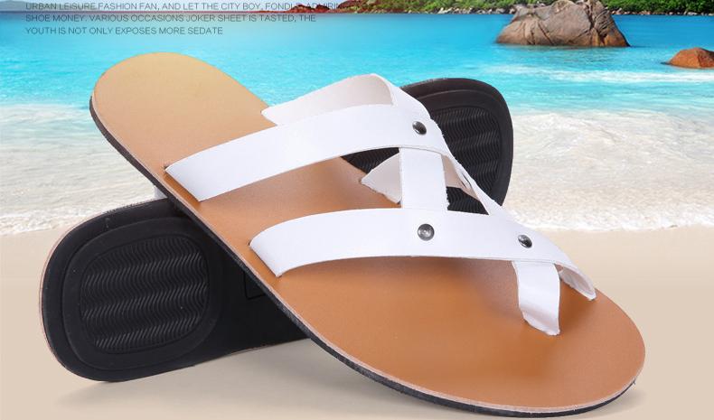 f97d1ef1ef Summer Men Sandals 2019 Mens Gladiator Sandal Flat Heel Breathable Shoes  Casual Mens Shoes Beach Sandal Zapatos Masculino. SIZE. 01 02 ...