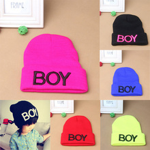 4fd66590bad Baby Girls Boys Knitted Woolen Skull Hats Toddler Ski Hats BOY Beanie Caps  Wholesale Free Shipping