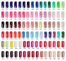 Free shipping 6pcs VOG fashion pure alluring color UV gel nail polish 15ml 268 colors for