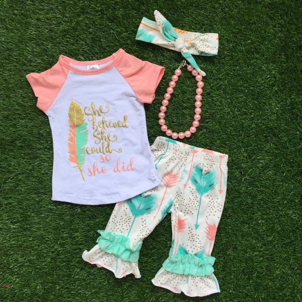 Aliexpress.com : Buy 2016 Summer baby child girls OUTFITS ...