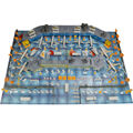 200pcs Aircraft Set Airplane Static Scene Model Toys Simulation Airport Property Waiting Hall Plane Bus Fence