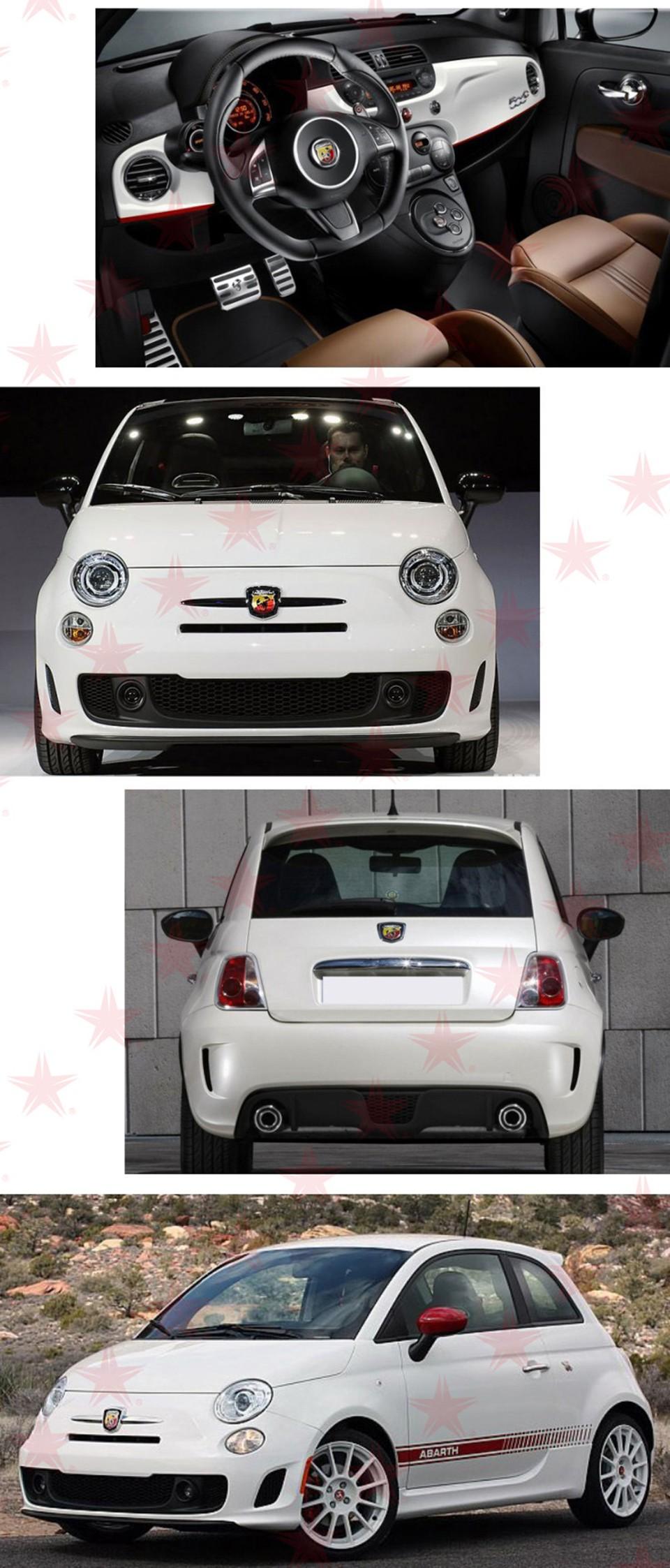 Großhandel 3d 3m Auto Abarth Metal Adhesive Abzeichen Emblem Logo Aufkleber Aufkleber Scorpion Für Alle Fiat Abarth Punto 124125125500 Car Styling