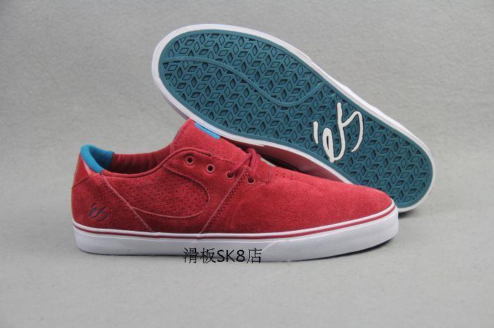 Новый ES ускор прочная мужчин скейтборд обуви с красной анти-меховой коньках обувь досуг сбалансированный скейт теннис