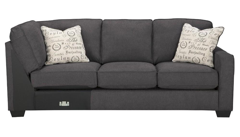 tissu d 39 ameublement en bois sofa sectionnel ensemble avec bras gauche face causeuse bras droit. Black Bedroom Furniture Sets. Home Design Ideas