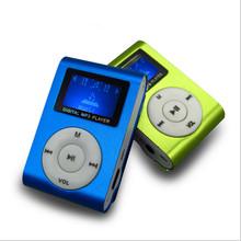 Mini mp3 player, Klip mp3 Player musik dengan slot kartu, 8 Warna & pengiriman gratis
