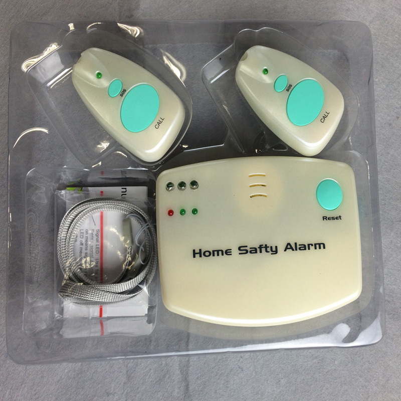 Elderly Home Safety: Home Safety Alarm Pager Emergency Call Button Alarm System