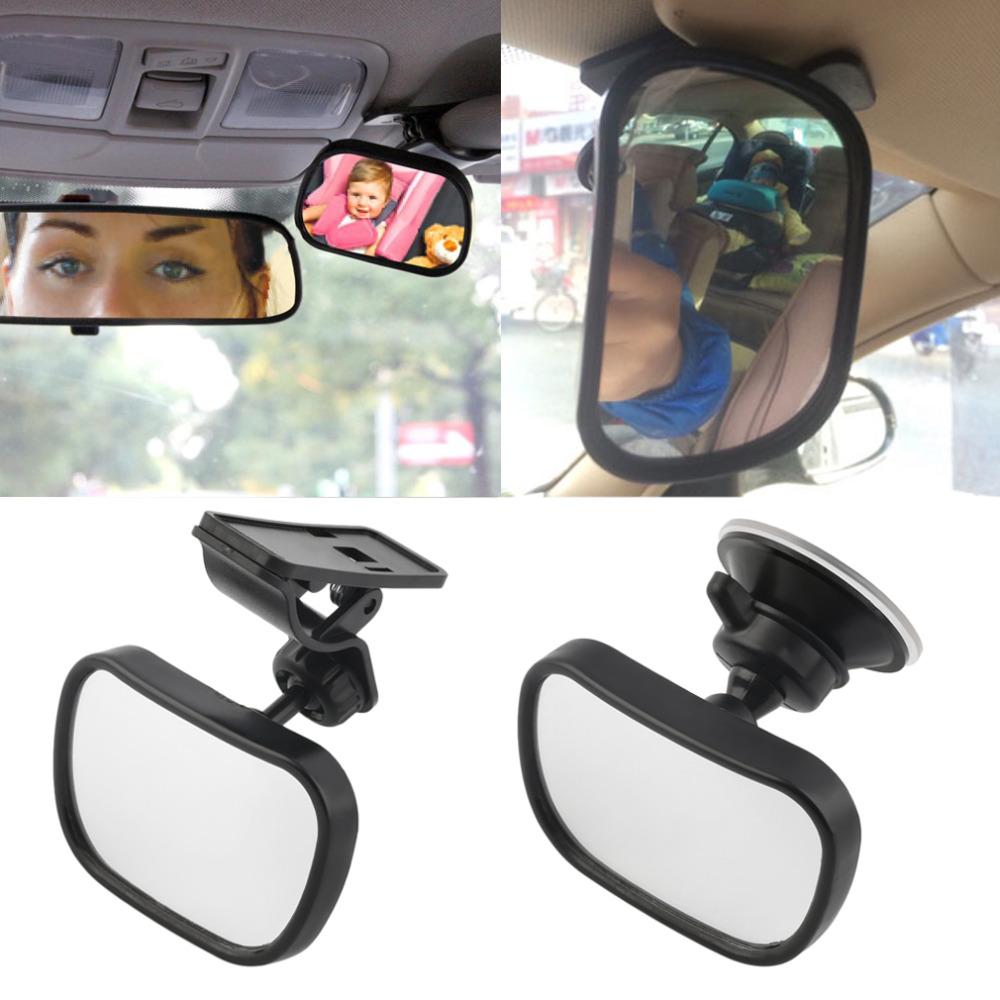Car Back Seat Safety View Mirror Baby Rear Ward Facing Car Interior Baby Kids Monitor Safety