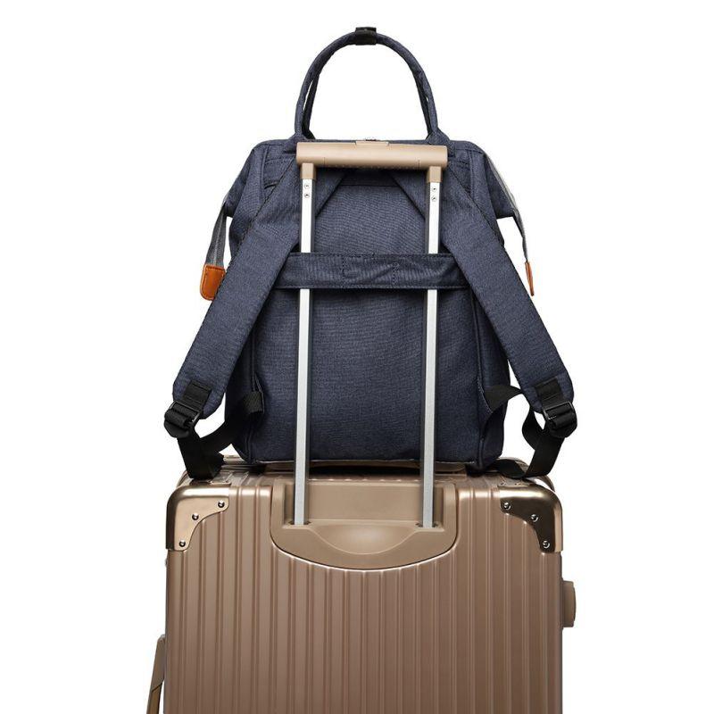 fb912c6705 New Waterproof Backpack Travel Bags For Women Men Diaper Bag Large ...