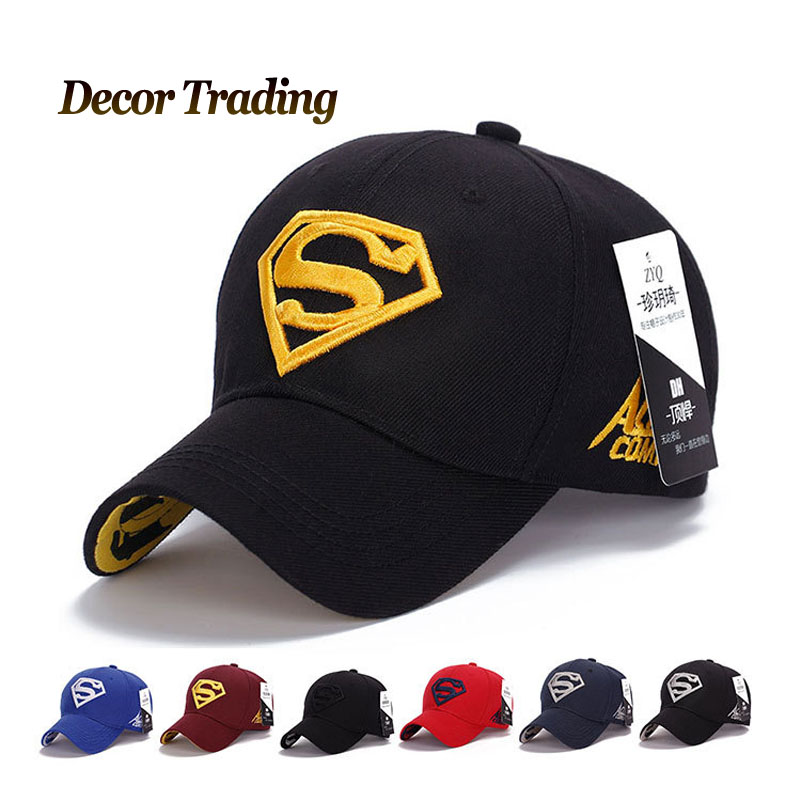 7d4db74b9e05b 2015 NEW Brand SUPERMAN Polo Snapback Mens Golf Baseball Caps Women Fitted Adjustable  Hat Gorras Planas