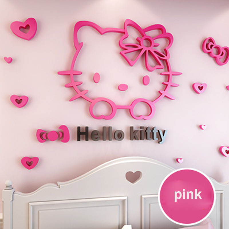 Hello Kitty Home Decor: Online Buy Grosir Kitty Dinding From China Kitty Dinding