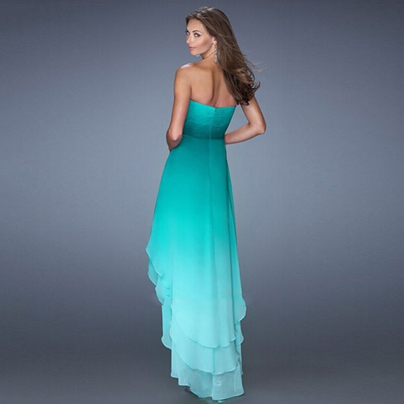 Ombre Dresses Prom Low High 10
