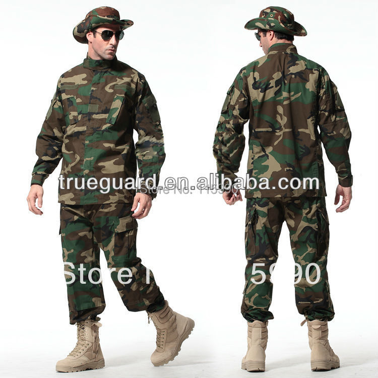 Aliexpress.com : Buy Woodland Camouflage Combat Uniforms ... - photo#41