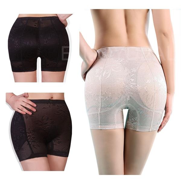 Дамы мягкий полный попа хип усилитель формирователь нижнее белье лаконичный брюки форма