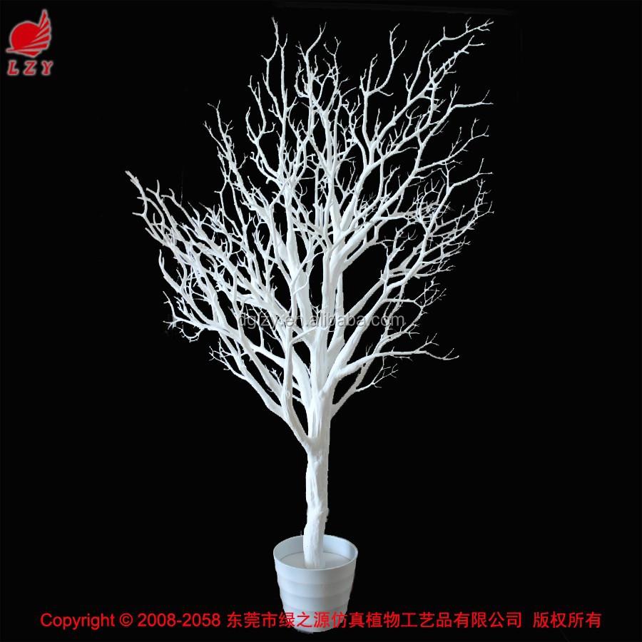 corail artificielle branche d 39 arbre d coratif blanc sec branche d 39 arbre fleurs guirlande de. Black Bedroom Furniture Sets. Home Design Ideas