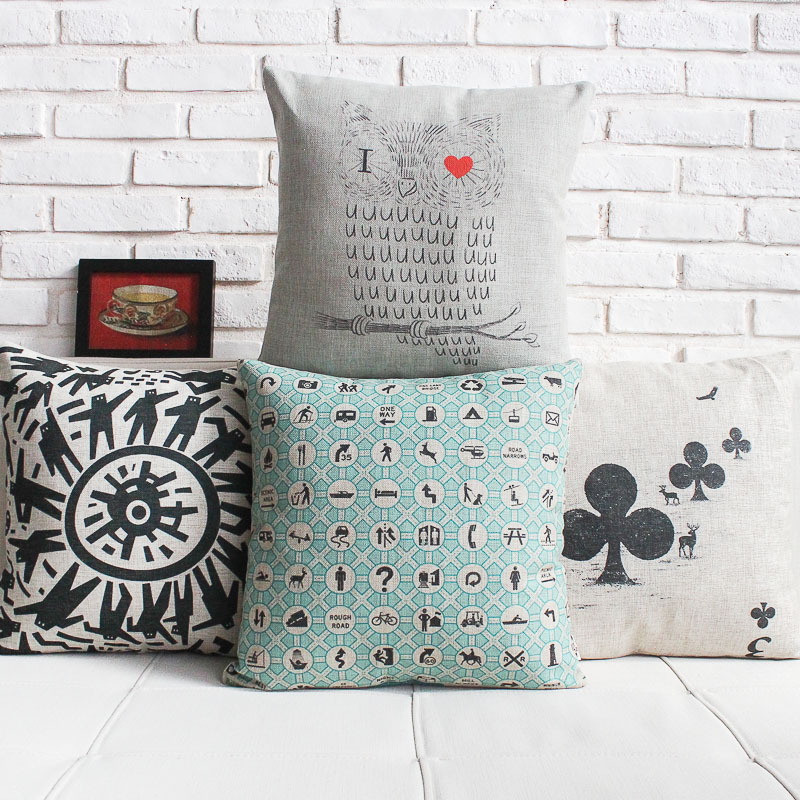 Wholesale creative Decorative Cushion Covers Modern style Pillows Decorate minimalist and cozy Cushions Home Decor free shipping