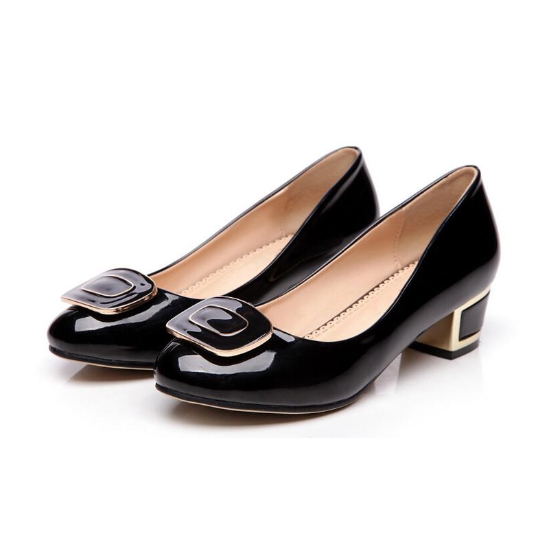 Womens Designer Black Dress Flat Shoes