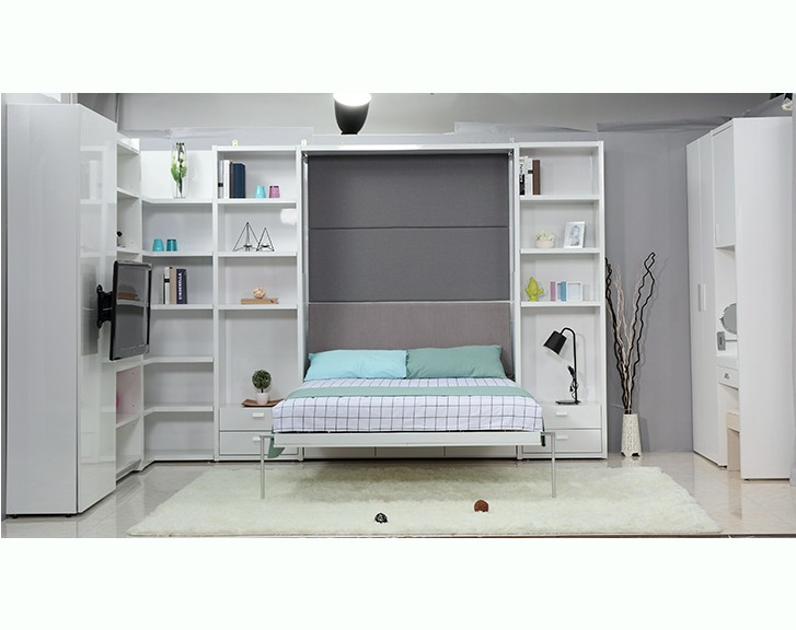Source Hot Selling Bedroom Furniture Latsest Wood Double