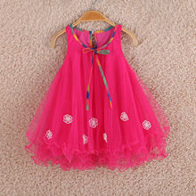 Vestido de chiffon infantil bebê menina roupas de verão infantil criança roupas de festa de natal recém-nascido vestidos para meninas vestido bebe