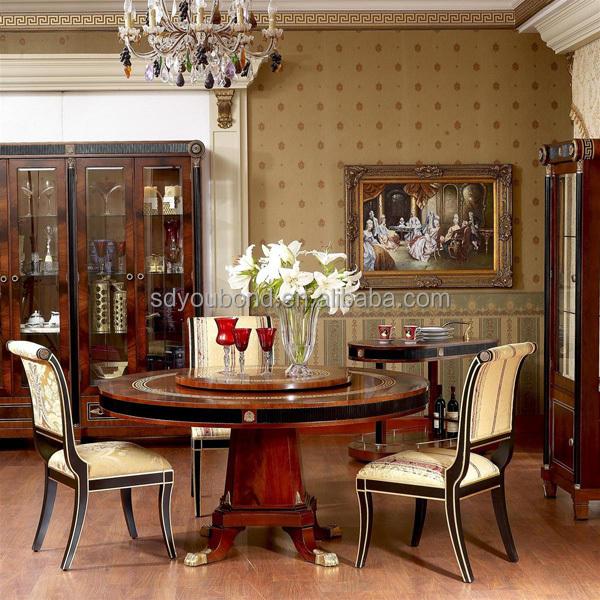 High End Dining Room Tables: 0010 Spain High End Design Dining Room Furniture Set