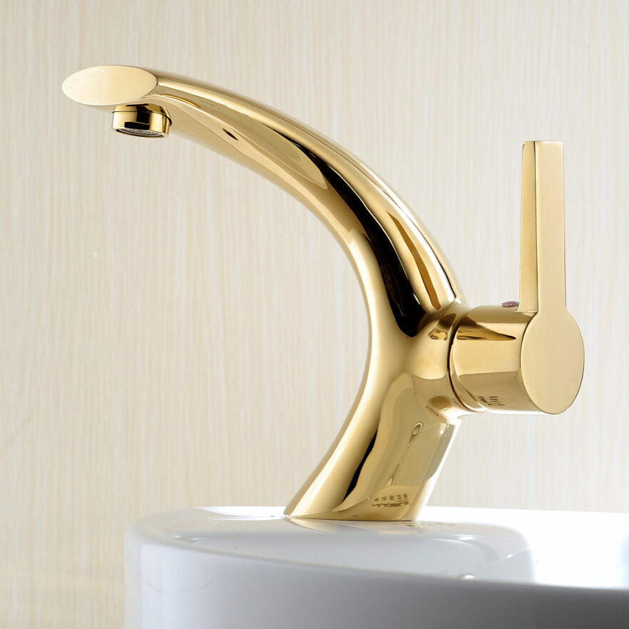 Gold Faucets For Bathroom: Online Buy Wholesale Gold Bathroom Faucets From China Gold