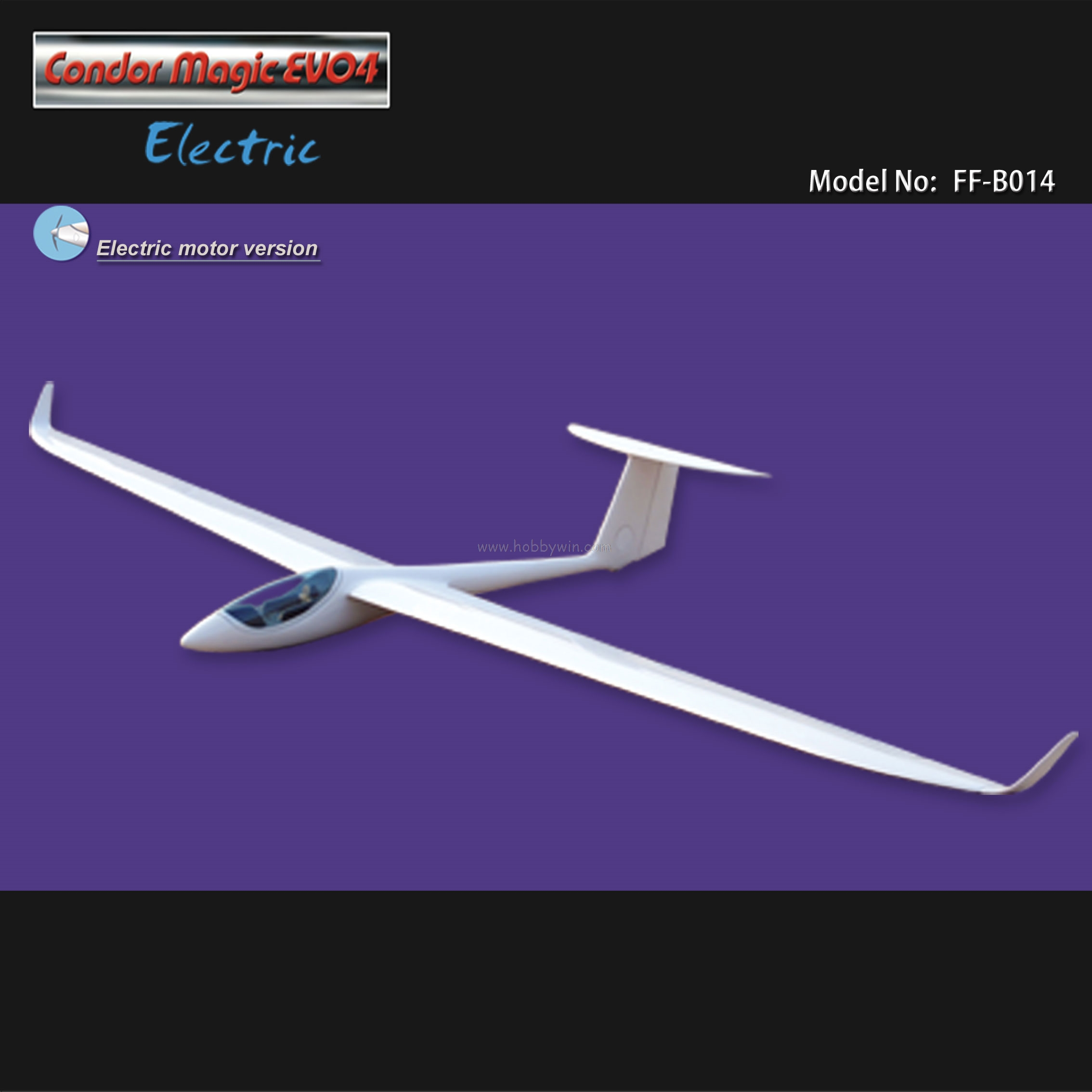 US $348 0 |Condor Magic EVO4 Electric Glider 3000mm PNP with Motor &  Propeller & Esc & Servo RC Fiberglass Sailplane-in RC Airplanes from Toys &