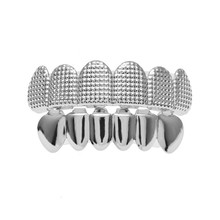Мужской набор в стиле хип-хоп BOAKO, набор из топа и зубов(Китай)