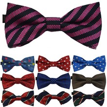 2014 Children bow tie Cartoon Boys Bow ties cute British style fashion knitted double dot bow