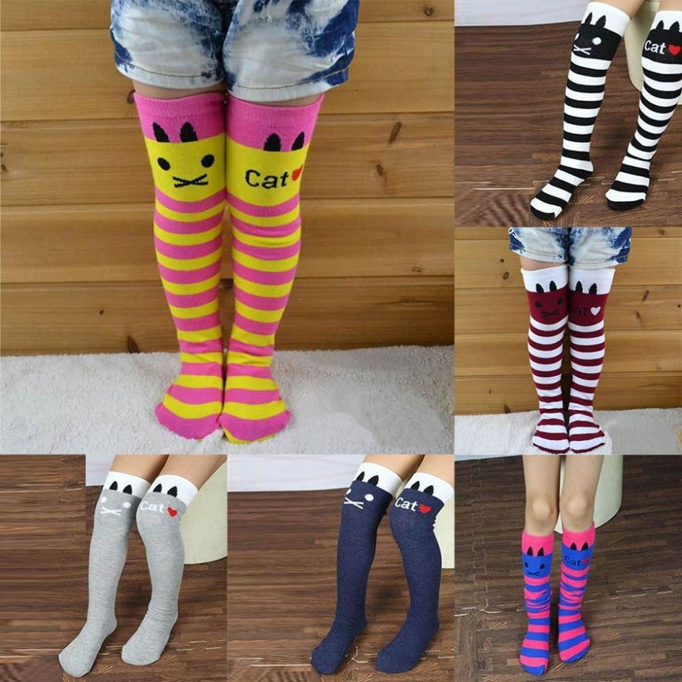 9764e989a Detail Feedback Questions about Toddler Kids Girls Cotton Knee High ...