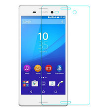 Premium Quality Tempered Glass for Sony Xperia M4  Screen Protector Crystal Clear 9H Hardness 2.5D Protective Film Free shipping