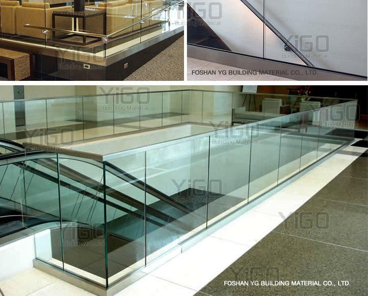 High Grade Stainless Steel Balustrade Frameless U