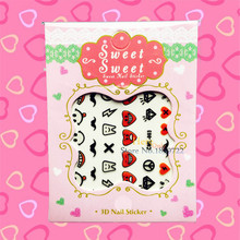 Inspired Kids Cartoon Nail Art Stickers Finger Styling Tools Watermark HCML 003 Child Nail Decoration Templates