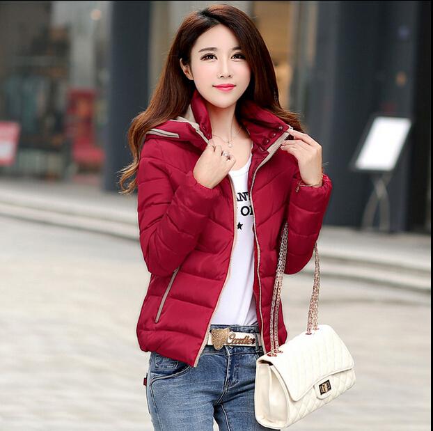 Зима куртка хлопок, , женское зима пальто, дизайн приталенный короткая пункт 8 цветов куртка - мягкий куртка, м-xxxxl