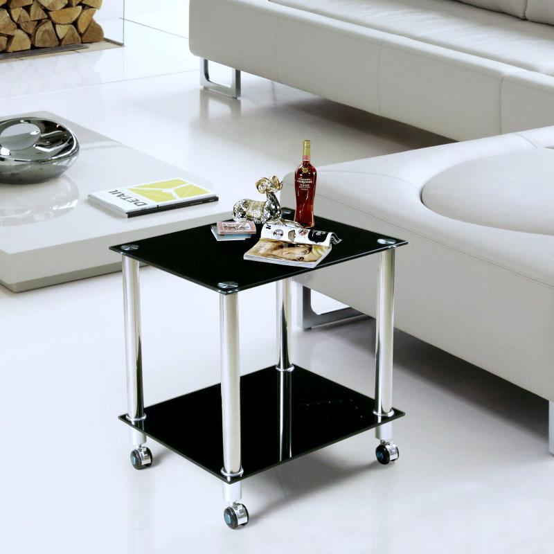printer tables minimalist sofa side a few small coffee table glass corner mobile rack black. Black Bedroom Furniture Sets. Home Design Ideas