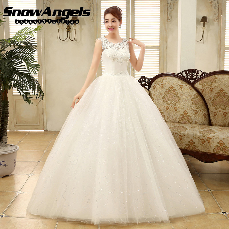 New Arrival Customize Plus Size Luxury Lace Wedding Dress