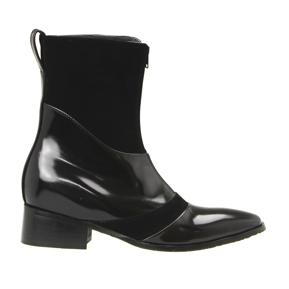 Black Dress Shoe High Shine