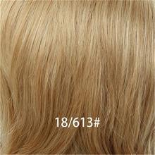 """INHAIR CUBE 6 """"Серый Белый 50% Синтетический + 50% человеческие волосы натуральные прямые короткие парики с челкой многослойный парик для женщин Бес...(Китай)"""