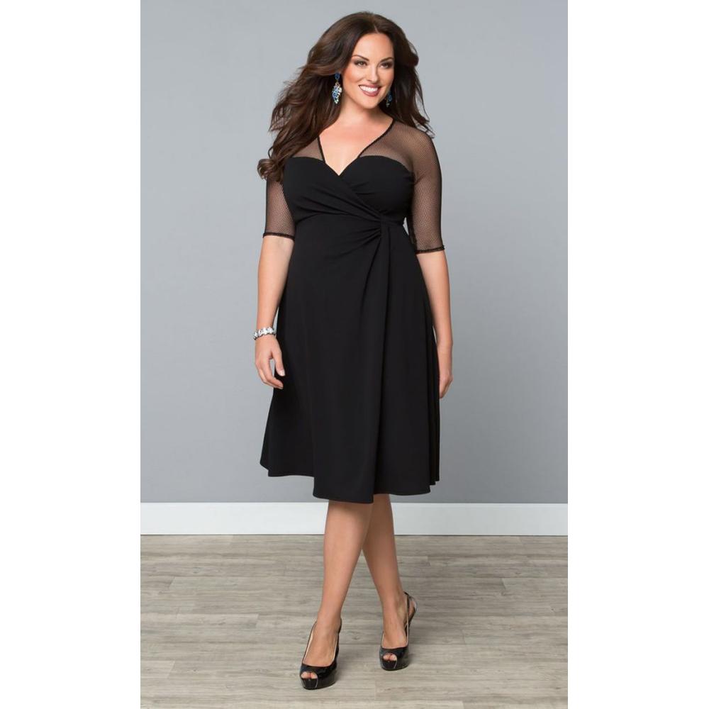 robes de mode robe noire elegante pas cher. Black Bedroom Furniture Sets. Home Design Ideas