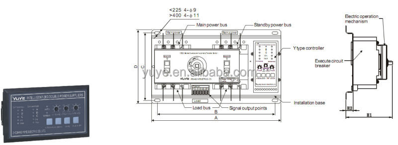 123 yeq2f socomec manual changeover switch 3 phase. Black Bedroom Furniture Sets. Home Design Ideas