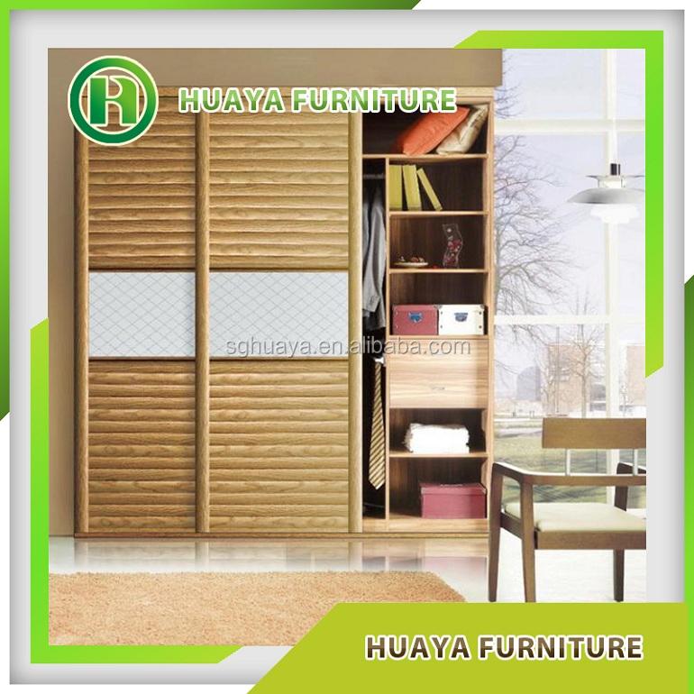 Cheap Bedroom Design Ideas Sliding Door Wardrobes: New Style Modern Cheap Sliding Door Wooden Wardrobe
