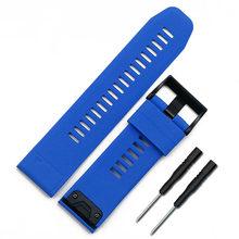 Мужской силиконовый ремешок, аксессуары для часов с пряжкой, 26 мм, для занятий спортом на открытом воздухе, водонепроницаемый ремешок для ...(Китай)