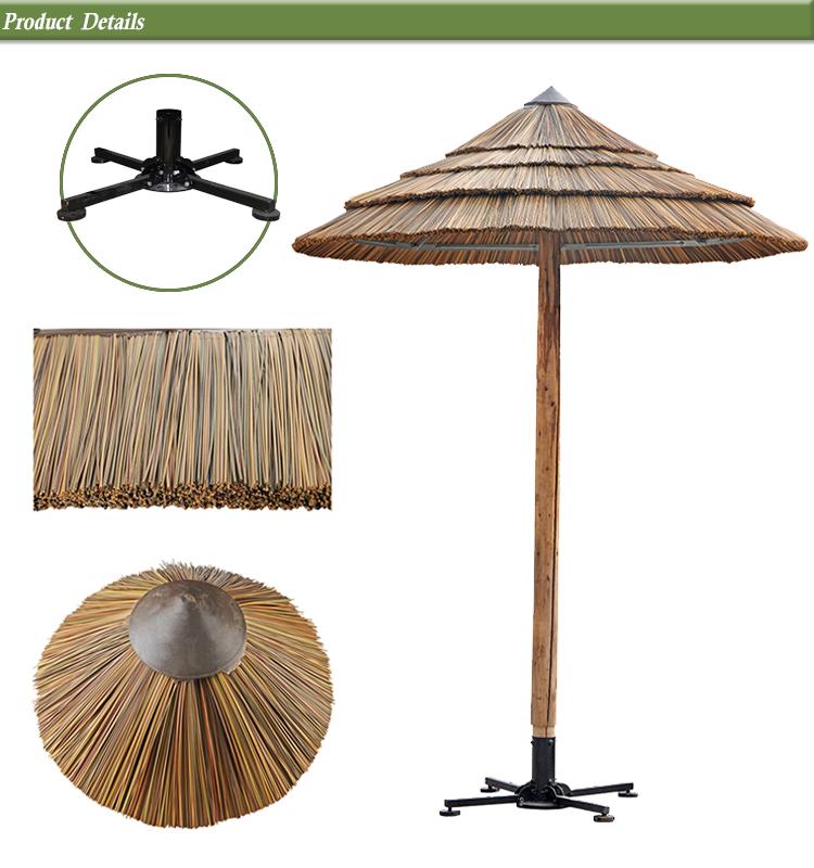 Balcony Hut The Beach Umbrella Decorative Artificial