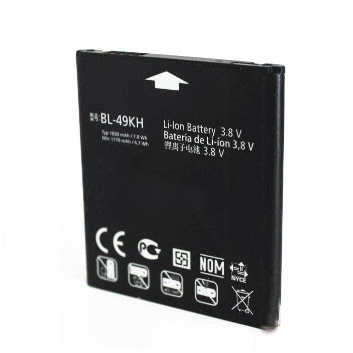 Оригинальный мобильный телефон аккумулятор аккумулятор BL-49KH BL 49KH для LG lu6200 P930 U6200 P936 SU640