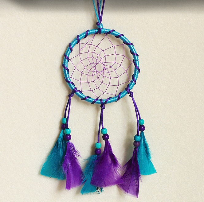 Dream Catcher Wall Hanging Crafts Dreamcatcher Home Decoration Handmade Indian Wind Chimes Car Pendant Household Accessories