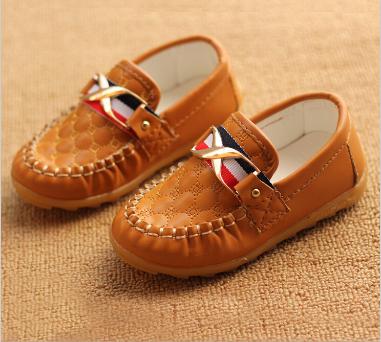hot Fashion children shoes boy girl Kids Casual slip one Sneakers brand flats loafers shoes