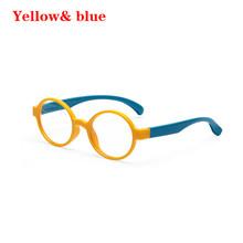 3 вида стилей стекло es для мальчиков и девочек, мягкая силиконовая оправа, анти-голубые линзы, защита для глаз, детская стеклянная оправа, очк...(Китай)