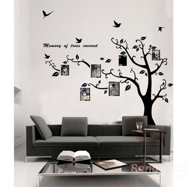 New Hot Sale Discount Photo Frame Tree Family Picture Wall