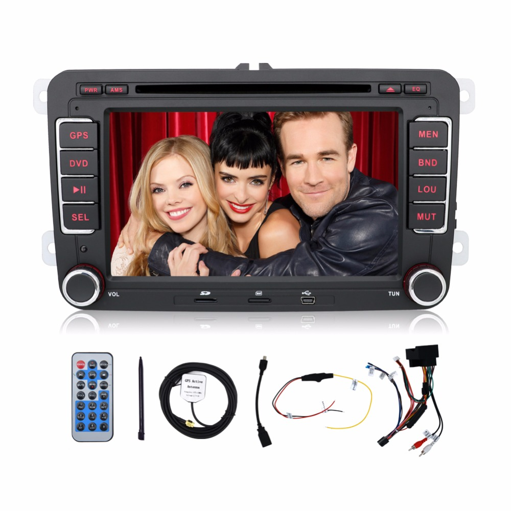 2din VW Tiguan / Scirocco /Touran Car DVD Player, GPS Headunit Radio RDS Ipod